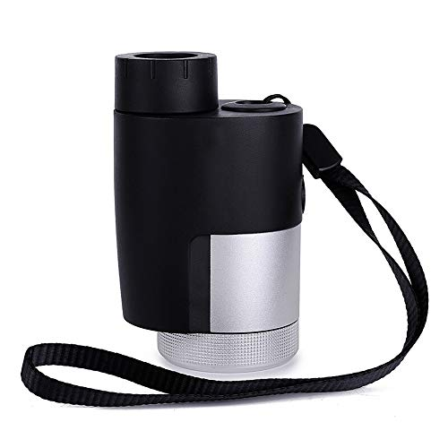 Blingstars Mini monoculars, buitenverlichtingsmodus Sight, beweeglijk HD Imaging verrekijker, zilver blingsterren