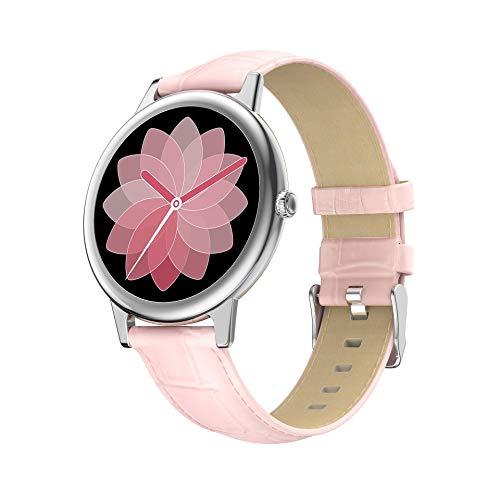 AYZE Reloj Depreloj Deportivo Mujer GPS 24 Modos De Ejercicio, Monitorización del Sueño/Frecuencia CardíAca, Conexión Bluetooth, CronóMetro Y Función De BúSqueda De TeléFono, Reloj De Fitness 5