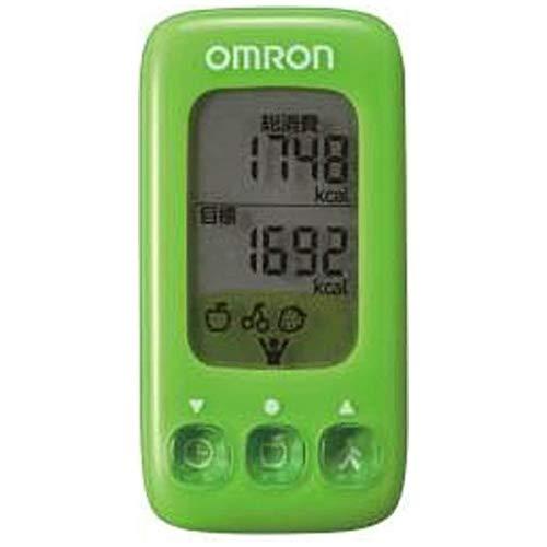 オムロン活動量計(グリーン)OMRONカロリスキャンHJA-314-G