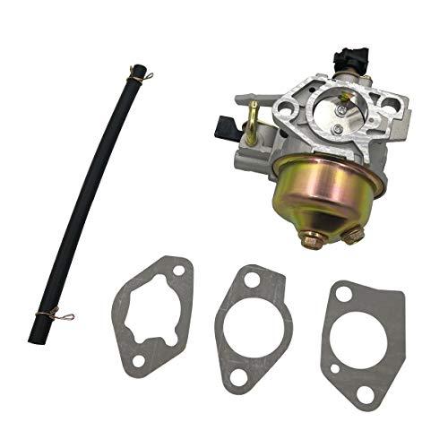 Cancanle Vergaser mit Dichtung Kraftstoffschlauch passend für Honda GX390 Wasserpumpe Rasenmäher Motor ersetzt 16100-ZF6-W31