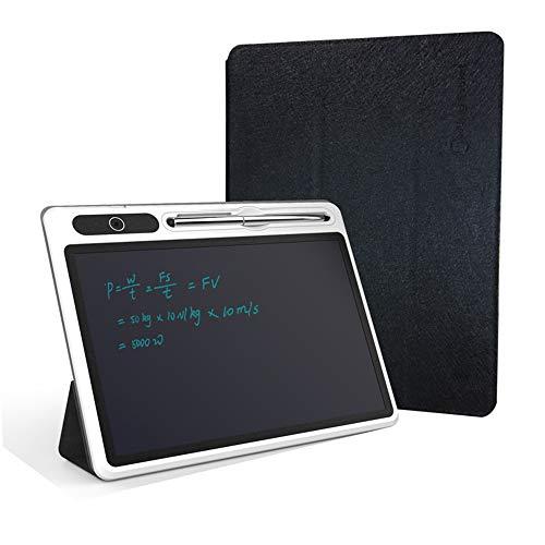 Yzbtj Tableta De Escritura LCD, Tablero De Escritura Comercial De 10.1 Pulgadas con Estuche Protector, Tablero De Dibujo Pintado A Mano con Bloqueo Anti-Borrado para Estudiantes, Adulto