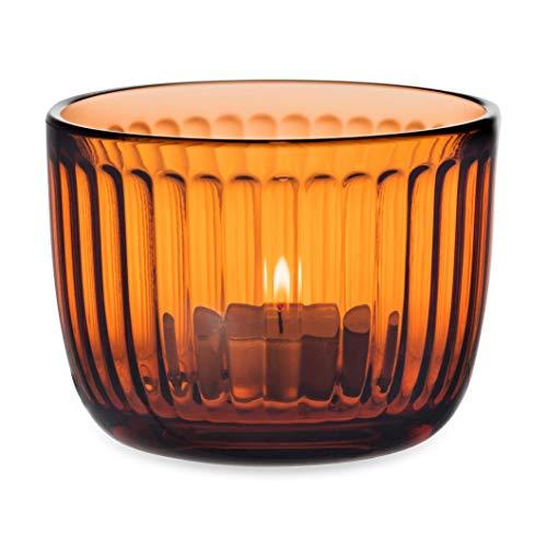 Iittala Windlicht, Orange, 9 cm