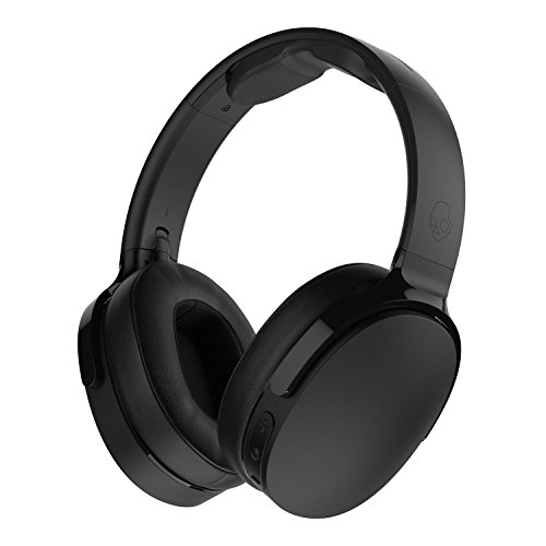 Skullcandy S6HTW-K033 Hesh 3 Bluetooth Wireless Over-Ear Headphones with Microphone, Rapid Charge 22-Hour Battery, Foldable, Memory Foam Ear Cushions for Comfortable All-Day Fit, Black