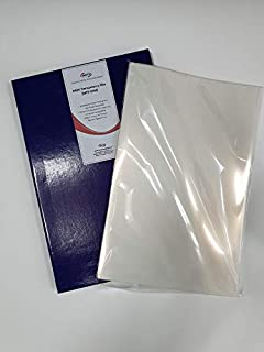 DURICO Translucent PET 5.3mil (135micron) Inkjet Film in Sheets for Screen Printing (11X17 in/ 50 Sheets)