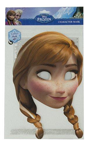 Rubie's - MA1304 - Masque frozen reine des neiges anna - carton