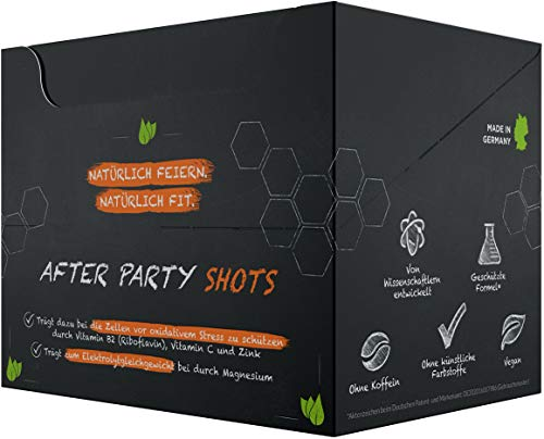one:47® After Party Drink | 12 Shots | Basisches Elektrolyte Getränk + zusätzlich hochkonzentrierten Pflanzenextrakten, Vitaminen & Mineralstoffen | Feel good next day | Rehydration & Fitter sein - 2