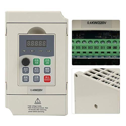 Eenfase CNC-router Spindel Frequentieomvormer Drive Converter 220V 0.4KW / 0.75KW / 1.5KW (1.5KW)