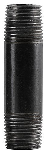 LDR 300 112X4 Pipe Nipple, Black, 1-1/2-Inch X 4-Inch by LDR Industries