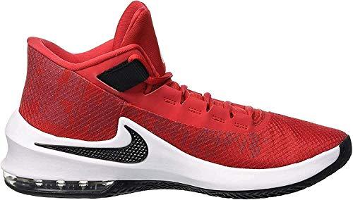 Nike Air MAX Infuriate 2 Mid, Zapatos de Baloncesto para Hombre, Rojo (University Red/Black/White 600), 44 EU