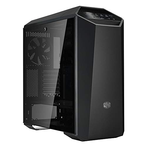 Cooler Master MasterCase MC500M Mid-Tower ATX Case w/Freeform Modular, Type-C I/O Panel, Tempered Glass Side Panel, RGB Panel Plate & Cable Management Cover