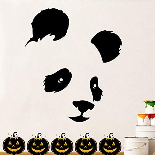 hetingyue Panda Familie wandaufkleber wandbild künstler Dekoration kinderzimmer wanddekoration Aufkleber 54x63 cm