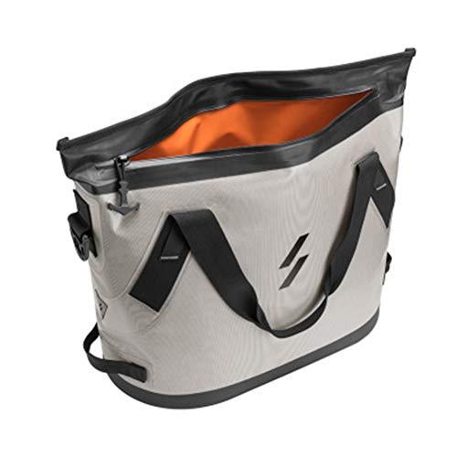Roexboz Nevera portátil para camping, 22 L, bolsa térmica, bolsa térmica, bolsa aislante, nevera con correa para el hombro, refrigeración múltiple, aislamiento grueso