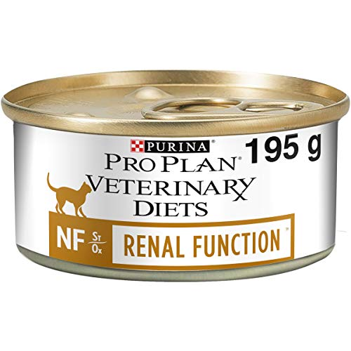 Pro Plan Veterinary Diets Feline NF Función Renal Comida para Gatos 195g - Caja de 24
