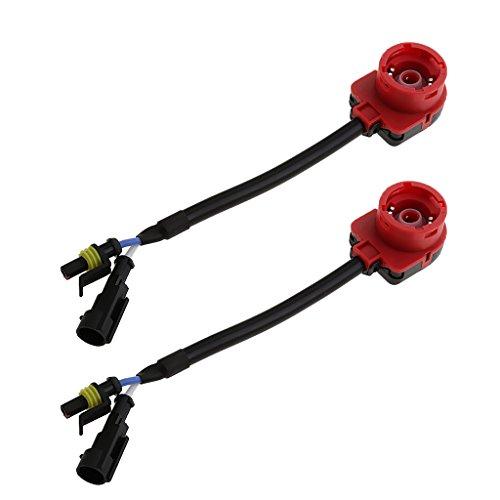SDENSHI 2 Stück D2S D2R D2C HID Konverter Stecker Adapter Stecker Kabelbaum