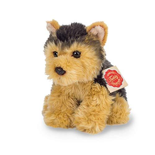 Herman teddy bear- Yorkshire Terrier Peluche, Color marrón y Negro (Hermann Teddy 92715)