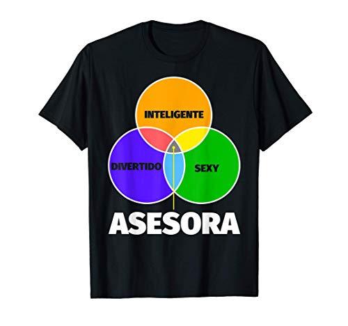 Asesora regalo divertente - inteligente sexy divertente Camiseta