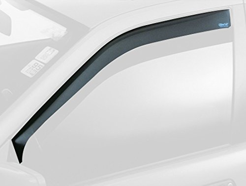 ClimAir Déflecteurs latéraux compatible avec Citroen DS3 3 portes 2009-