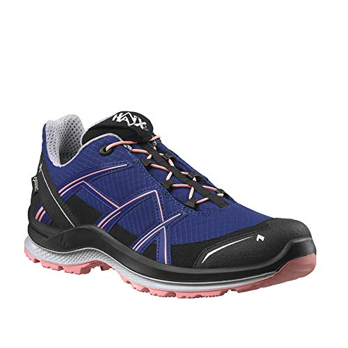 Haix Black Eagle Adventure 2.1 GTX Ws Low/Indigo-Peach Funktionaler Freizeitschuh mit Gore-TEX. 39