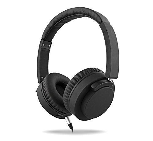 T'nB Auriculares Inalámbricos y Ergonómicos con Bluetooth Wireless con Alcance de hasta 10 m - Tecnología Noise Cancelling e Incluye Kit de Viaje con Adaptador para el Avión.