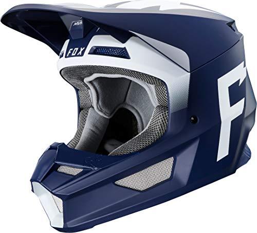 Fox V1 Werd Helmet, Ece Navy