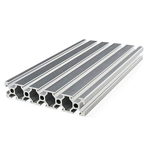 ATEYC 20100 Aluminum Profile Extrusion, Linear Rail for DIY CNC 3D Printer Workbench 1PC (Color : Length 450mm)