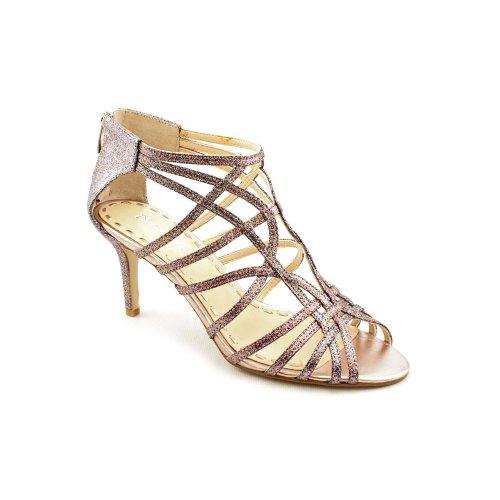Enzo Angiolini Rennes Women's Sandal Shoes (5, Silver Multi)