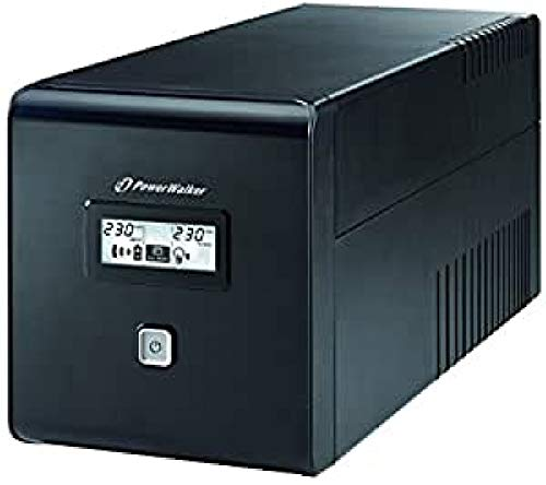 Potenza Walker VI 1000 LCD Line-Interactive interrompermi senza alimentazione