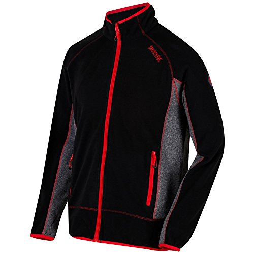 Regatta Mens Ashton II Full Zip Symmetry Fleece Casual Fleece Jacket