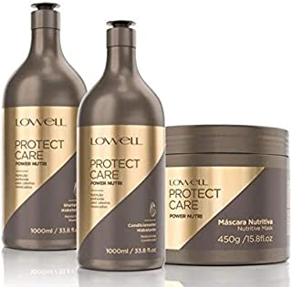 Lowell Protect Care Power Nutri - Kit Profissional 3 Produtos