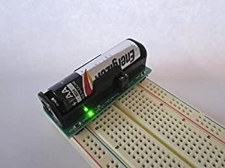 BooSTick AA Voltage Booster - 3.3 & 5 Volt Output for Electronics prototyping