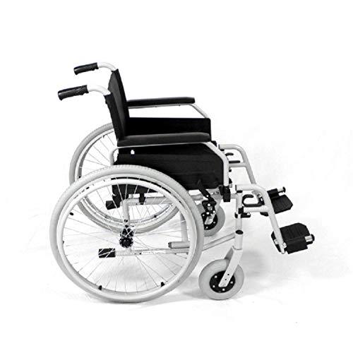 bescomedical Rollstuhl Primus MS 2.0, Faltbar, mit Steckachsensystem, Sitzbreite 52 cm