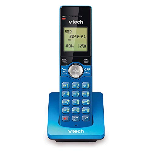 VTech CS6909-15 Accessory Cordless Handset, Blue | Requires A CS6919, Or CS6929 Series Cordless Phone System to Operate