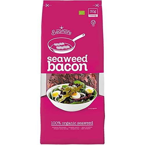Seamore Bio Algen Speck I Sea Bacon, 30 g | Bekannt aus Galileo | Glutenfrei, Low Carb, Vegan, Nachhaltig & ohne Gentechnik