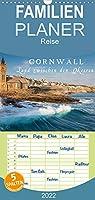 Cornwall - Land zwischen den Meeren - Familienplaner hoch (Wandkalender 2022 , 21 cm x 45 cm, hoch): Entdecken Sie faszinierende Kuesten, die raue Schoenheit und Urspruenglichkeit von Cornwall. (Monatskalender, 14 Seiten )