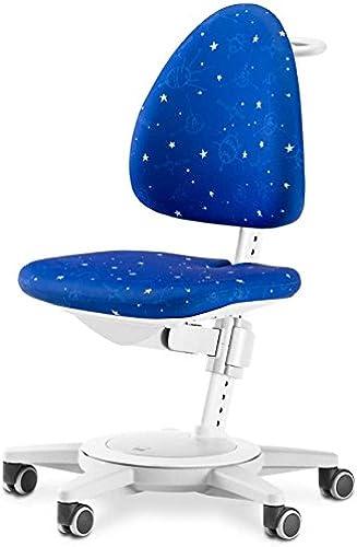 MOLL Maximo Kinderstuhl Gestell Weiß   Polster  Galaxy
