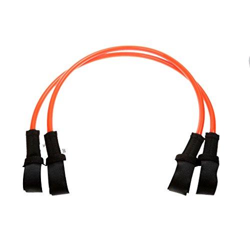 IPOTCH 2X Cable de Windsurf Longitud Ajustable Bucle y Gancho Sujetador - 26 Pulgadas