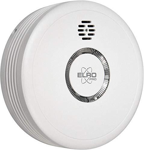 ELRO PRO PS4910 Design Rauchmelder Automatischem Selbsttest und 10 Jahre Batterie