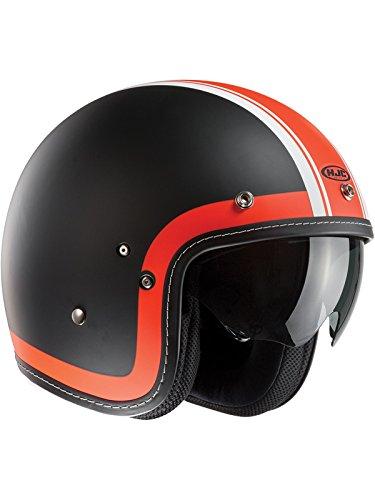 F7HBXL - HJC FG-70s Heritage Open Face Motorcycle Helmet XL White (MC10F)