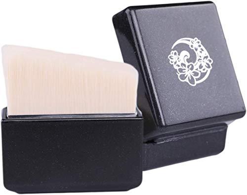 ENERGY Pinceau Kabuki Poudre Fond de teint Pinceau Poudre Minérale Portatif Grand Pinceau Angulaire Rose