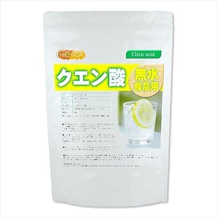 無水 クエン酸 (食品添加物グレード) 950g [01] NICHIGA(ニチガ)