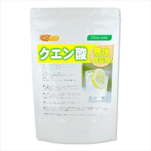 無水 クエン酸 (食品添加物グレード) 950g [06] NICHIGA(ニチガ)