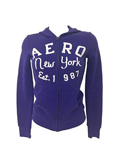 Aeropostale Mujer Sudaderas Zip & Cap violeta XL