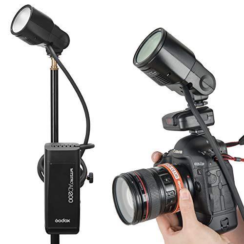 Godox X2T-C TTL - Disparador de flash inalámbrico (1/8000s HSS con conexión Bluetooth, 2,4 G, transmisor de disparador inalámbrico para cámaras Canon Godox V1 TT685C TT350C TT600 V860II-C AD20