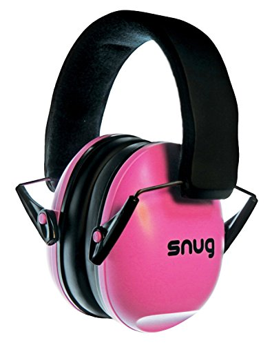 Snug Kids Earmuffs/Best Hearing Protectors – Adjustable Headband Ear Defenders For Children and Adults (Pink)