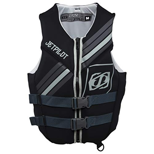 Jet Pilot Cause Neoprene CGA Vest-L-Gry/BLK Adult Water Life Jacket Vest for Extreme Sports Boat Kayak Paddling Use and Safety Sports Vests for Men and Women