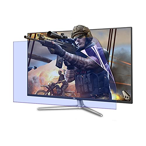 ELISYG Protector de Pantalla de TV 39 Pulgadas Pantalla Curva, Protectora De Pantalla De TV Anti luz Azul Antirreflejos Anti-rasguños para LCD, LED, OLED Y QLED 4K HDTV (Size : 860 * 485mm)