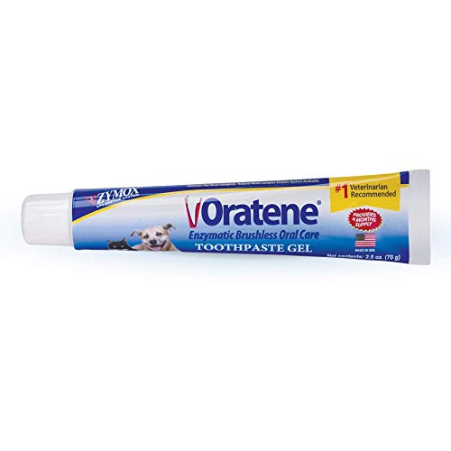 Pet King Brands Oratene Brushless Toothpaste Gel for Dogs and Cats, 2.5oz