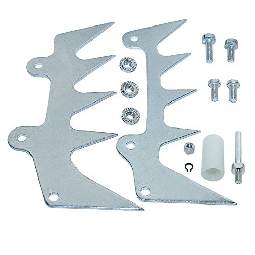 AUMEL Bumper Spike Felling Dog Chain Catcher Kit for Stihl MS660 MS460 MS440 066 046 044 Chainsaw Replace 1122 650 7700, 1122 664 0503