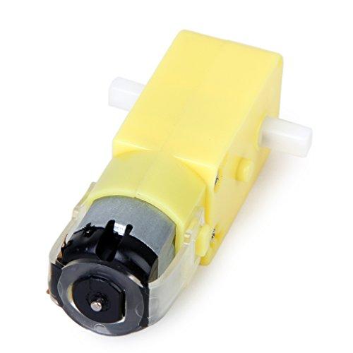 Gleichstrom Motor Getriebemotor DC 3V-12V Fuer ARDUINO Roboter Smart Auto DIY