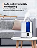 Zoom IMG-1 umidificatore ambiente ultrasuoni humidifier herilios
